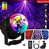 LED Bola de Discoteca, emooqi 7colores Strobe Light sonido bola de discoteca LED Party lámpara para Fiesta Navidad Halloween Pub boda Club Show