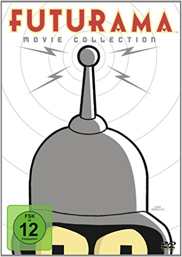 Futurama - Movie Collection [4 DVDs]