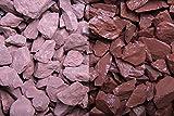 Kies Splitt Zierkies Edelsplitt Canadian Slate rot 15-30mm Sack 20 kg