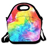 Rainbow Colors Lunch Box Bag For Kids And Adult,lunch Tote Lunch Holder With