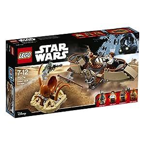 Lego 75174 Star Wars - Fuga dal deserto sullo skiff