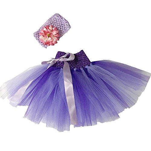 HELLO BABY - Gonna - linea ad a -  Bebè femminuccia Purple Taglia unica