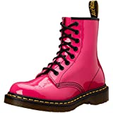 Dr. Martens 1460 Patent Hot Pink 11821670 - Botas de cuero para mujer