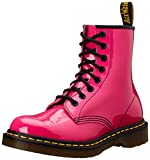 Dr. Martens 1460 Patent Stivaletti, Unisex Adulto, Hot Pink Patent, 38