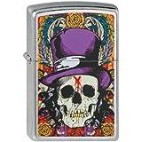 Zippo Briquet #207 Skull avec Top Hat