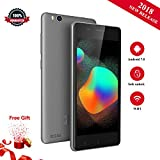 KEN XIN DA V6 3G Smartphone Unlock Android 6.0 Quad-core 1.2GHz SC7731 8GB Camere 2MP Dual SIM-Free Mobile Phone (Grey)