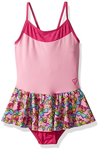 Jojo Siwa By Danskin Mädchen Rainbow Bows Dance Dress Funktionsunterwäsche, Pink Combo, XS -
