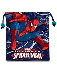 Kids Spiderman Saquito Merienda, Color Azul