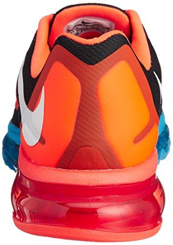 Nike Air Max 2015, Running Entrainement Homme Nero (Orangefarbig-Schwarz)