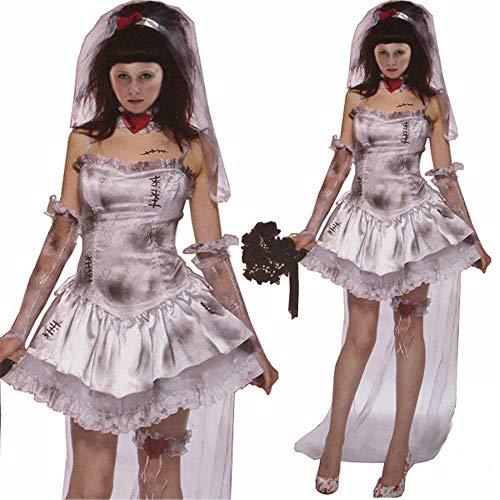 (Baby Dolls & Negligees Für Damenhalloween Kostüm Europa und Amerika Damen Halloween Kostüm Sexy Hexe Anzug Geist Sexy Spiel, Foto Farbe, M)