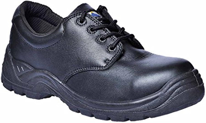PORTWEST FC44 Compositelitetrade Thor Shoe S3 Black FC44BK R39