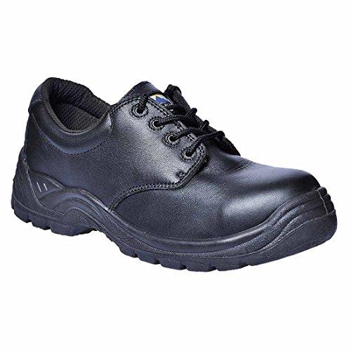 Chaussures de sécurité basses Portwest S3 SRC Thor Composite Noir-