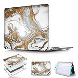 2018 MacBook Air Touch ID 13 pouces A1932 PapyHall plus récent motif Marbre veiné...