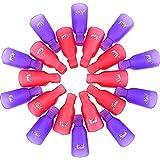 Strumento Plastica di Unghie Nail Art Acrilico Clip in Gel UV Utensili Rimozione Pulizia, 20 Pezzi