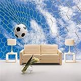 Xbwy Personalizzato 3D Moderno Semplice Da Parete Affresco Sport Calcio Per Bambini Biancheria Da Letto Divano Sfondo Foto Carta Da Parati Decorazioni Per La Casa-200X140Cm