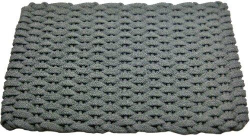 Rockport Seil Fußmatten Küche Komfort Matten, Textil, grau, 20 by 38-Inch - Frontgate-matte