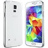 Samsung Galaxy S5 Hülle in Transparent - moodie Silikonhülle Case Schutzhülle Tasche für Samsung S5
