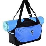 Sunshay Sacchetti di tappeto multifunzionale del sacchetto di yoga del sacchetto di yoga leggero Sacchetto di sportivo durevole della borsa di sport di alta capacit¨¤ Sacchetti di sacchetto di caso di Pilates Yoga impermeabile del sacchetto di spalla di Yoga (non stuoia)
