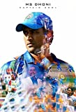 #3: KumkumArts Indian Captain Virat And MS Dhoni Poster 12 x 18 Inch, HD Quality Gloss Paper Unframed Qty 1.