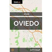 Oviedo, Spain - City Map