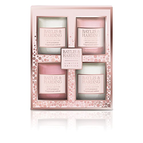 baylis-harding-pink-prosecco-and-cassis-votive-candle-set-pack-of-4