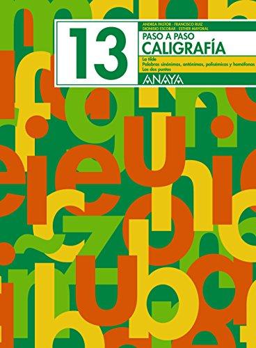 Caligrafía 13 (Paso a paso)