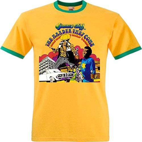 The Harder They Come' Ringer T-shirt - Jimmy Cliff