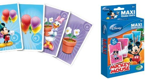 Modiano Disney - Baraja de Cartas Maxi, diseño de Mickey Importado de Italia