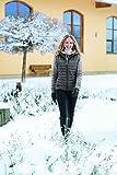 Pikeur sehr Sportive Damen-Weste mit Fester Kapuze Sofia, Walnut Grey, 38