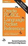 Oracle PL/SQL Language Pocket Reference - Steven Feuerstein, Bill Pribyl, Chip Dawes