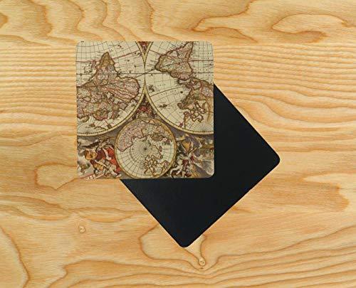 karte, Holz, 95 x 95 mm, 8 Stück ()