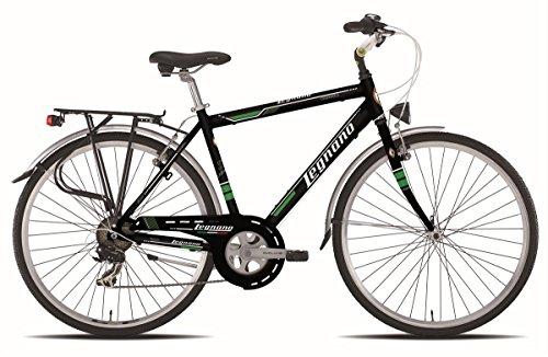 Legnano vélo 440Cesenatico Gent 7V taille 48noire (City)/Bicycle 440Cesenatico Gent 7S Size 48black (City)