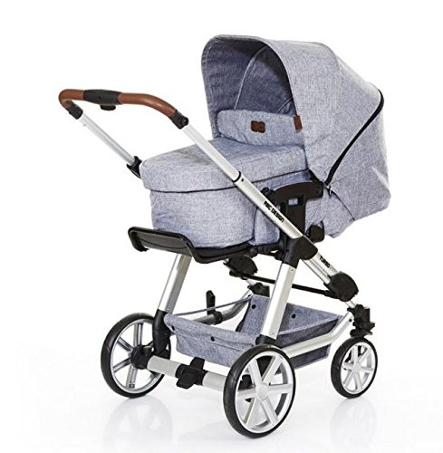 ABC Design Kombi-Kinderwagen Turbo 4 graphite grey inkl. Tragewanne 3in1