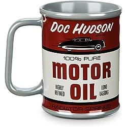 Taza retro de Disney Pixar Cars 3 - Doc Hudson Motor Oil