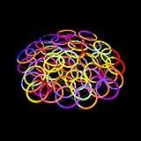 Kontor 3.11 65972 - Knicklicht zweifarbig Röhre Mix, Verschiedene Spielwaren, 25er set