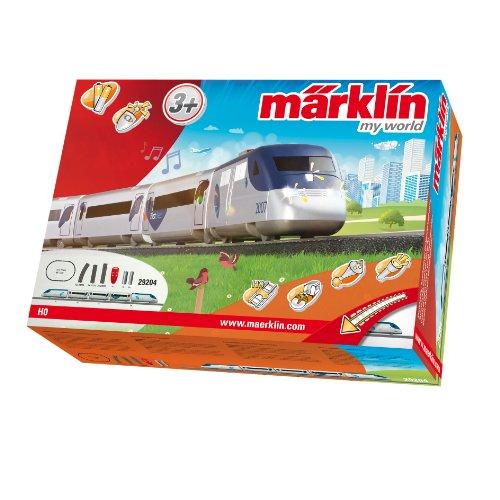 Märklin 29204 - treno americano ad alta velocità, con funzionamento a batteria e ganci magnetici