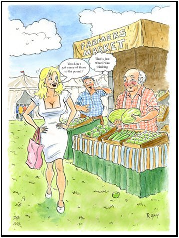 little-snoring-gifts-7x5-greetings-card-funny-farm-farmers-market