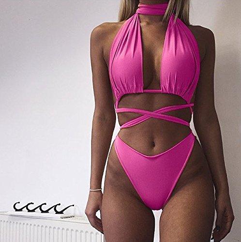 XX&GXM Europa und die Vereinigten Staaten weibliche Gurten hängend Hals zwei Badeanzug Bikini A