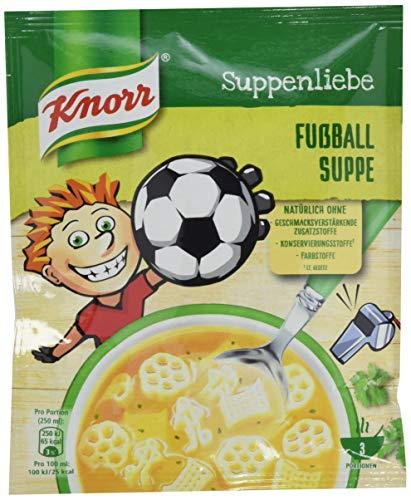 Knorr Suppenliebe Fußball Suppe 3 Teller, 13er Pack (13 x 54g)