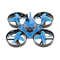 Goolsky Blue Shark Micro Tiny 1000TVL Camera Coreless RC Racing Quadcopter RC Drone with FPV Goggles RTF