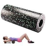 Surenhap Faszienrolle Standard Mittel-Hart EPP Schaumstoffrolle 33 * 14 cm Massage-Rolle für Yoga Massage Faszientraining Verspannungen Geeignet für Rücken Beine Nacken Schultern usw. (Grün)