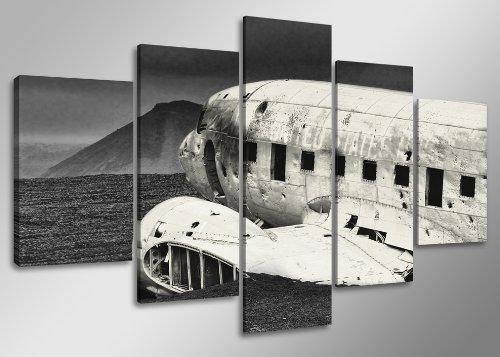 160 x 80 cm Cuadro Lienzo avión 5501-SCT - Imagen/Impresion/Pintura