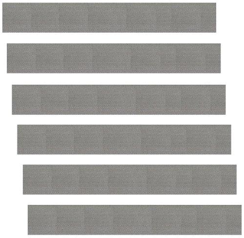 6 Stück Edelstahlsieb 100x13 mm (Grundpreis: EUR 0,82/Stück) 50my Mesh 300 Edelstahlsiebgewebe in Industriequalität/ESS Mod/Stainless Steel Mesh