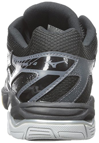 Mizuno Wave Lightning Z Large Synthétique Baskets Black-White-Silver