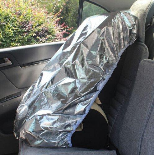 EX1 Baby Bebé Asiento Coche Cubierta Quitasol Parasol Luz de Sol Calor Rayos UV Reflector Proteccion Antipolvo