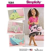 Simplicity Patron de couture pour sacs fantaisie en forme d'animal 1084