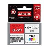 ActiveJet AC-511R cartucho de tinta Cian
