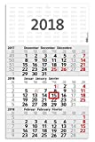 Geiger-Notes - Budget 3, 3-Monatskalender 2018, 30 x 49 cm