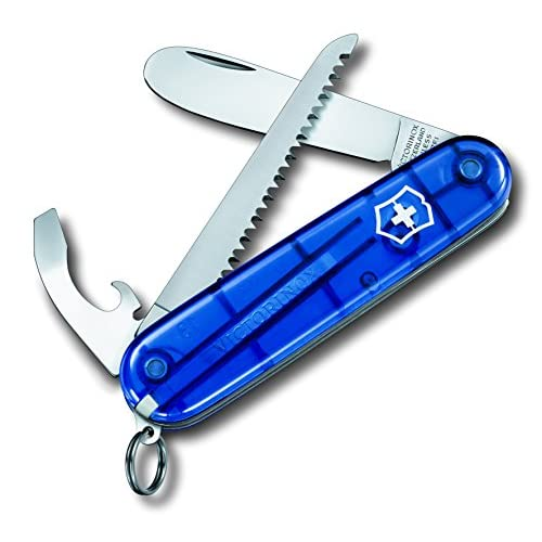 "51W%2BHaVOmbL. SS500  - Victorinox My First Pocket Knife ""my First"" In Blue - Blue, S"