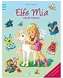 Elfe Mia und ihr Einhorn (Anziehpuppen)